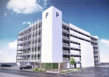 6月1日に開業する芸術劇場南駐車場のイメージ図