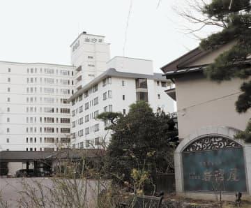 秋保温泉屈指の老舗として高い知名度を誇る岩沼屋=仙台市太白区