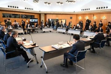 検査態勢の拡充について報告された県の対策本部会議