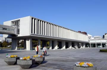 5月17日までの臨時休館が決まった原爆資料館(広島市中区)