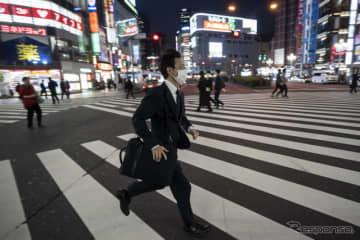 写真は4月8日の東京・新宿(c)getty images