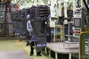 ヤマハ発動機 袋井南工場 生産ライン