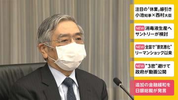 「必要あれば金融緩和を」日銀総裁が発言