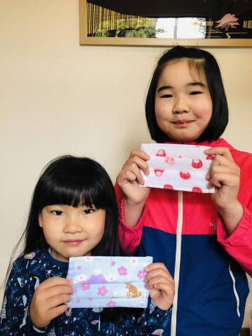 祖父母に手作りマスク40枚 都内の小学生姉妹「役立てて」/千葉・いすみ