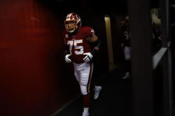 ワシントン・レッドスキンズのブランドン・シャーフ【AP Photo/Patrick Semansky】