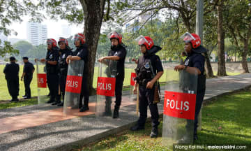 MCO: PJ police to use FRU personnel at roadblocks
