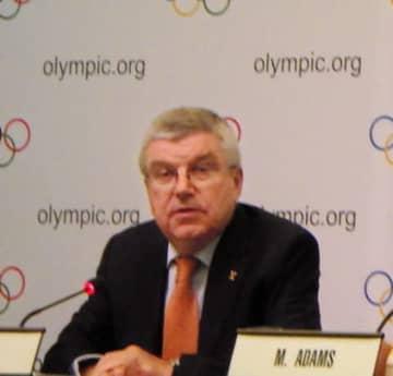 IOCのトマス・バッハ会長