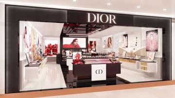 成田国際空港、T1南ウイングに「Dior Perfume and Beauty」オープン