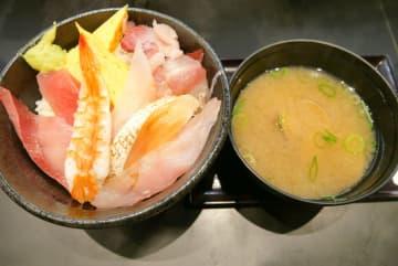 【大宮】回転寿司すし松で超コスパランチ!海鮮丼が味噌汁付590円!松屋フーズが手掛ける激安寿司屋