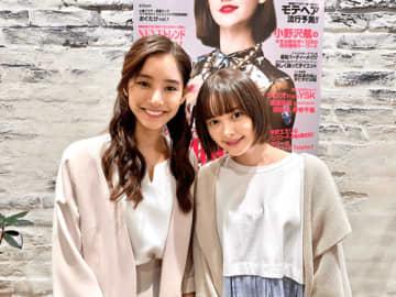 新木優子、玉城ティナとの2ショットが「美人すぎる!」