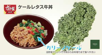 すき家の新メニュー「カリーノケール」とは さいたま・トキタ種苗が開発した「野菜の王様」、注目集める