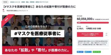 「#マスクを医療従事者に」支援の輪広がる 大谷翔平、ジェジュンらが協力