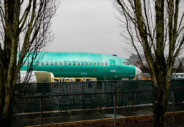 File photo: a Boeing 737 MAX airplane. [Photo/Agencies]