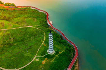 20余りの景勝地をつなぐ道路が開通 浙江省衢州市