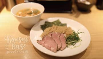 世界遺産 姫路城をモチーフの名物メニュー!醤油・味噌・トマトの3種の味が選べる「つけ麺 姫路」が人気のお店!姫路麺哲