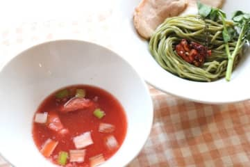 5月12日「アセロラの日」キャンペーン!「焼きアセロラのスーパーフードつけ麺」テイクアウトで期間限定発売