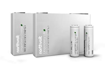 ノースボルト社のリチウムイオン電池