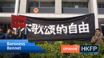 Baroness Bennett: Human rights and free speech are in peril in Hong Kong – the UK gov't should speak up