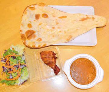 <お持ち帰りグルメ>熱々のナンにカレーいかが 川口で評判の料理店「スパイスイン インド・ネパール」