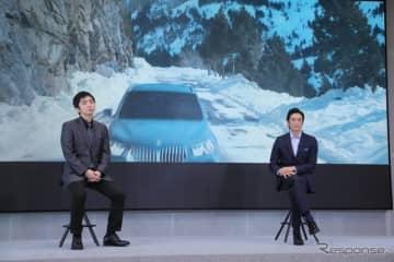 """BMWによるJOY""""プラス""""…伊勢谷「大人の表現」、羽田「安全性と共存」でサステナブル"""