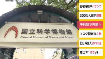 予約制で再開へ 東京・上野の国立科学博物館