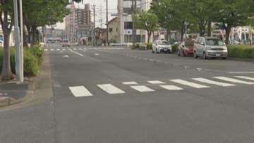 電動カートの男性、乗用車にはねられ重体 名古屋・守山区