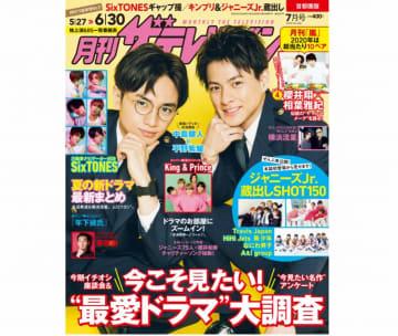 """「月刊ザテレビジョン」SixTONES""""ギャップ撮""""&ジャニーズJr.秘蔵SHOT150"""