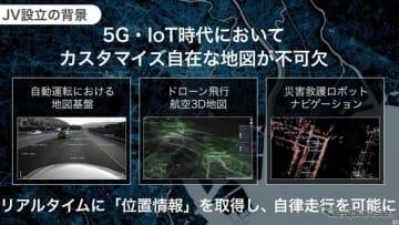 ソフトバンクがマップドックスと日本に合弁会社を新設