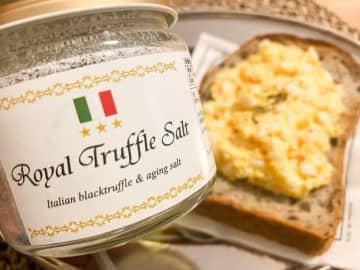 【おうちご飯のお供に】憧れのトリュフ塩で食事のプラス一品を贅沢に!