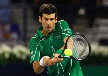 テニス=世界1位ジョコビッチ、チャリティー大会開催へ