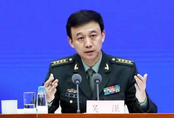 The Ministry of National Defense spokesman Wu Qian [File photo by Zhu Xingxin/chinadaily.com.cn]