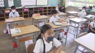 高松市の小中学校で学校再開…しばらくは分散登校【香川・高松市】