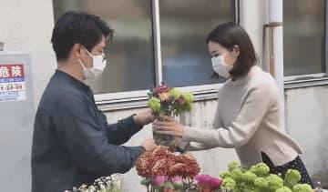 花に野菜にバルーンまで…長い外出自粛生活で進化する出張販売 画像