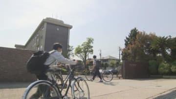 愛知県内の高校でも分散登校が始まる 自宅からゴミ袋持参で