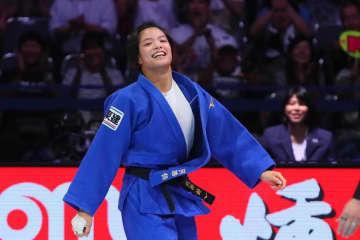 柔道 オリンピック代表権維持に阿部詩 「どんな状況でも努力していくだけ」 画像