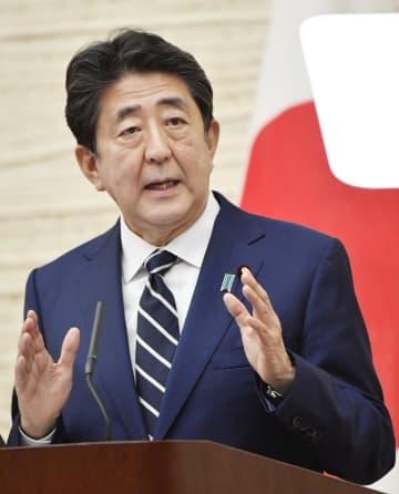 首相、緊急事態宣言を全面解除 外出や催し自粛、段階的に緩和
