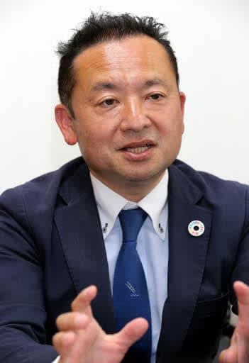 安芸太田町の町政運営の意気込みを語る橋本新町長