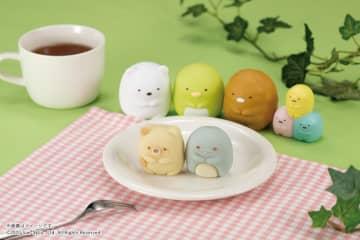 ついに「ねこ」と「とかげ」がキターー! 「すみっコぐらし」の和菓子、可愛すぎ。 画像