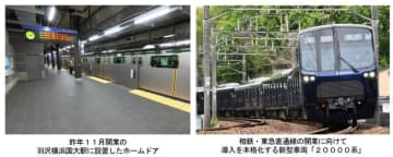 相鉄・東急直通線用20000系をさらに6編成導入 相鉄グループの2020年度鉄道・バス設備投資計画 安全対策とサービス向上に総額187億円