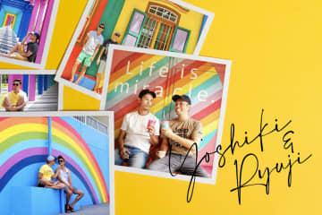 日米2市でパートナーシップを結んだ交際12年目のカップルが掲げる人生テーマ「Color Your Life!」って?
