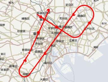 航空自衛隊「ブルーインパルス」、飛行経路発表 きょう午後東京上空に