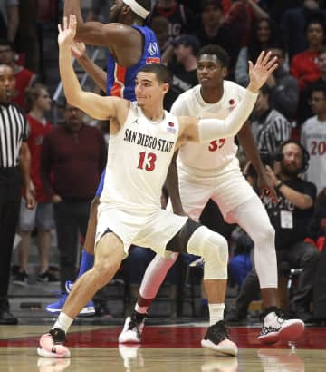 Aztecs basketball loses one walk-on, gets another