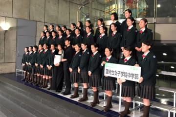 Nコン中止で「心に穴」 千葉県内名門校 いつか、また歌声を