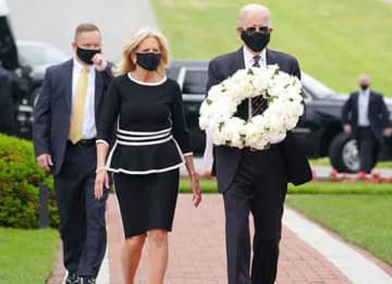 Watch: Joe Biden Comforts Victims Of COVID-19 & Family Who Lost Members