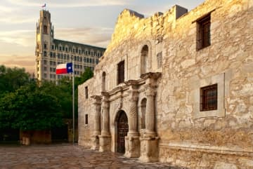 Armed Texas rushed to defend the Alamo from protesters and rioters