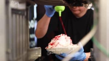 圧巻のそびえ立つタピオカ&ロイヤルミルクティーかき氷とまるでショートケーキを食べているかのようなかき氷が話題!いちごツリーパフェや絶品フルーツサンドの人気カフェが名物のかき氷メニューの販売スタート!レボプロヴァンス