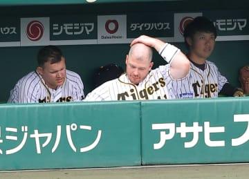 阪神新助っ人大丈夫?ボーア、サンズ 無死満塁の絶好機そろって凡退