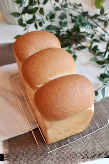 シンプル豆乳食パン