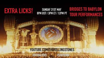 """ザ・ローリング・ストーンズ、ライブ映像シリーズ""""EXTRA LICKS""""第5弾は1997年『Bridges To Babylon』ツアー映像"""