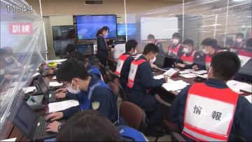 大雨特別警報を想定した訓練実施 災害時に現場を指揮する警察官らが対応を確認【佐賀県】